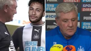 Steve Bruce Jokes He Was Trying To Sign Neymar