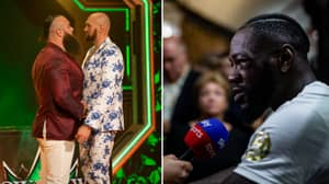 Deontay Wilder Savagely Reacts To Tyson Fury's WWE Appearance