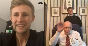 Captain Tom Moore Gets Surprise Call From His Sporting Hero: England Test Skipper Joe Root