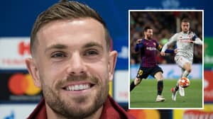 Jordan Henderson Recalls His Experience Of Playing Against Lionel Messi For The First Time