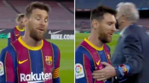 Lionel Messi Shockingly Claims Referee Wanted To Book Him In Barcelona's Win Over Real Valladolid