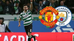 Manchester United Hoping To Beat Rivals City To Midfielder Bruno Fernandes