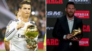 Cristiano Ronaldo's Claim The Golden Shoe Is Better Than The Ballon d'Or Has Come Back To Haunt Him