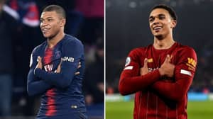 Kylian Mbappe Responds To Trent Alexander-Arnold Copying His Celebration