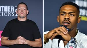 Jon Jones Responds To Nate Diaz After Alleged Doping Scandal Ahead Of UFC 244