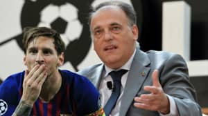 La Liga President Has A Message To Anyone Who Doesn't Think Lionel Messi Is The GOAT