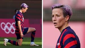 Former Footballer Says Megan Rapinoe 'Almost Bullied' Team USA Into Kneeling During National Anthem