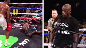 Former NFL Star Chad Johnson Gets Dropped In His First Ever Professional Boxing Match