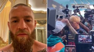 Conor McGregor Has Fully Ripped Floyd Mayweather For 'Embarrassing' Brawl With Jake Paul