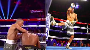 Watch: Boxer Teofimo Lopez Knocks Out Opponent, Celebrates With Fornite Dance