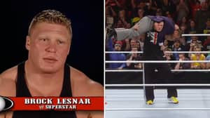 Brock Lesnar Explains How He Developed One Of WWE's Most Devastating Finishing Moves