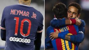 Neymar Offers His Number 10 Shirt To Lionel Messi Amid Paris Saint-Germain Talks