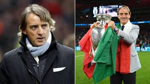 """Former Manchester City Star Reacts To Italy's Euro 2020 Win: """"I Hate Roberto Mancini"""""""