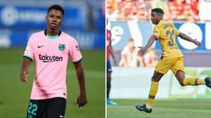 Manchester United 'Agreed' Deal For Ansu Fati But Barcelona Wouldn't Sell