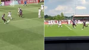Pierre-Emerick Aubameyang Scores Hat-Trick In Opening 17 Minutes Of Pre-Season Friendly