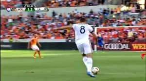 WATCH: Steven Gerrard Provides Sublime Assist For Giovanni Dos Santos