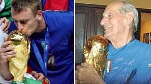 Daniele De Rossi Put His World Cup Winner's Medal In Kit Man's Coffin
