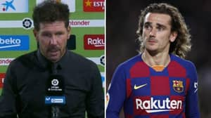 Diego Simeone's Reaction To Antoine Griezmann's Late Cameo Is Just Sad To See