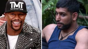 Floyd Mayweather Brilliantly Reacts To Amir Khan In 'I'm A Celebrity...'
