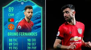 Bruno Fernandes' New FIFA 20 Card Makes Him One Of The Best Midfielders In The Game