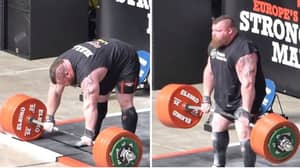 Eddie Hall And The Inside Story Of His World Record 500kg Deadlift That Put His Life In Danger