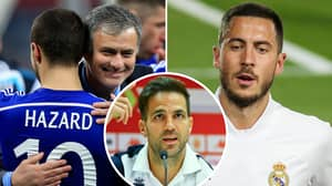 Cesc Fabregas' Surprising Reaction To Jose Mourinho Calling Eden Hazard An 'Awful' Trainer At Chelsea