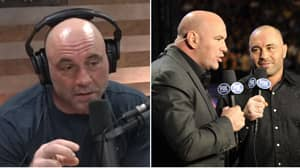 Joe Rogan Reacts To Dana White's Claim That He's Commentating At UFC 249