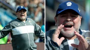 Diego Maradona Rejoins Gimnasia As Manager Just Two Days After Quitting