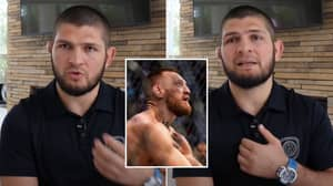 Khabib Keeps It Real When Asked About Conor McGregor's Defeat, Says 'Something Superior' Caused Leg Break