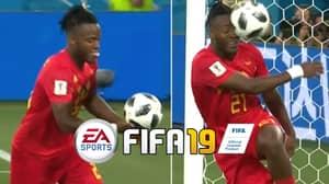 Fans Really, Really Want Michy Batshuayi's Hilarious Celebration On FIFA 19