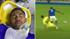 Wesley Fofana Confirms Broken Leg After He Was Rushed To Hospital Following Horror Tackle In Friendly