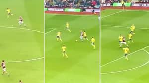 Alan Hutton Just Became Lionel Messi Against Birmingham City
