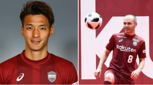 Vissel Kobe Player Given One-Month Ban For Andres Iniesta Incident