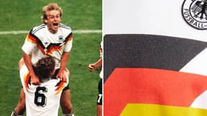 Adidas Have Brought Out A Germany 1990 Replica Jersey And It's Beautiful