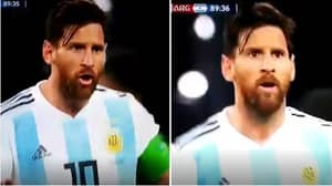 What Lionel Messi Shouted To Argentina Bench In Last Minute Of Nigeria Win