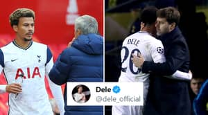 Dele Alli's Twitter Reaction Shows How He Feels About Being Frozen Out At Tottenham