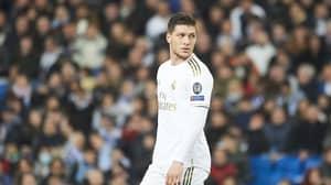 Real Madrid Striker Luka Jovic Has Broken His Foot In Lockdown