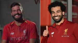 Alisson Reveals The Brilliant Text Message From Mohamed Salah During Liverpool Negotiations