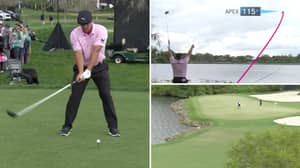 Bryson DeChambeau Attempts To Find Green On 531-Yard, Par 5 And It's A Must-Watch Shot