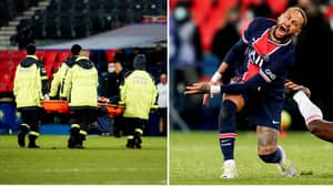 Preliminary Tests Confirm That Neymar Did Not Suffer A Broken Ankle During PSG's Clash With Lyon At The Weekend