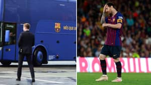 Lionel Messi Held An 'Emergency Meeting' On Barcelona's Team Bus After Copa dey Rey Final Loss
