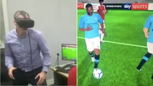 Jamie Carragher Uses Virtual Reality On MNF To Analyse The Game And It's Incredible