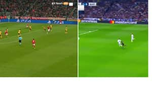 WATCH: Two Brilliant Champions League Goals Fly In Minutes Apart