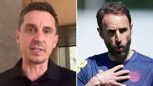 Gary Neville Names Two 'Undroppable' England Stars For Gareth Southgate's Three Lions