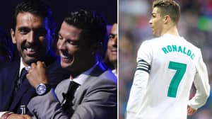 Gianluigi Buffon Brilliantly Sums Up Cristiano Ronaldo's New Playing Style