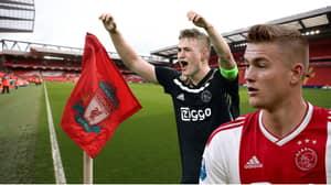 Ajax Coach Says Matthijs de Ligt Should Consider A Transfer To Liverpool
