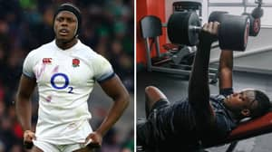 Four Training Sessions, 165kg Bench Press, 5,000 Calories Including TWO Dinners... A Day In The Life Of England Rugby Star Maro Itoje