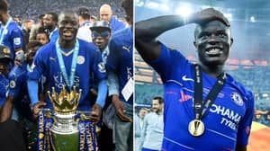 N'Golo Kante Has Won A Trophy In Every Season Since Transferring To England