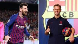 "Frenkie de Jong On Lionel Messi: ""Now My Idol Will Be My Teammate"""