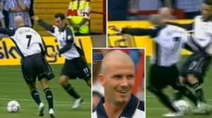 When David Beckham And Ryan Giggs Both Took A Free-Kick At The Exact Same Time